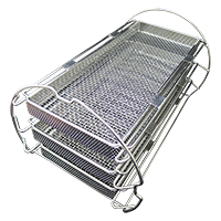 AG Neovo LouieP Séries tabletop autoclave Tray Frame with 3 Stanless Steel Trays