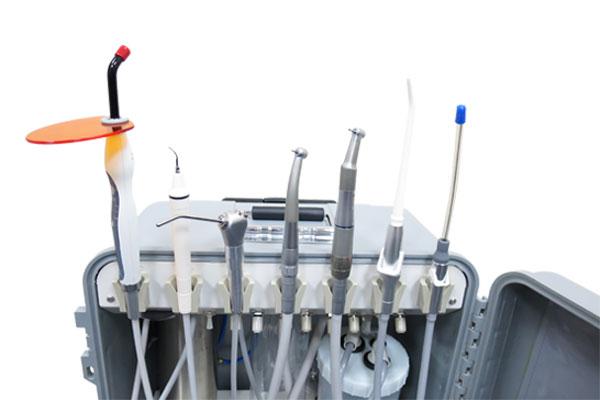 AG Neovo Healthcare PDE-181 可攜式行動牙科診療設備搭載無油式空氣壓縮機